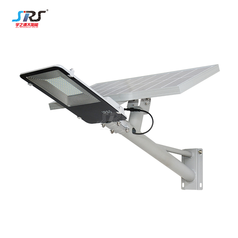 Custom 100w Solar Street Light with Battery Wall Mounted YZY-LL-407/409/410
