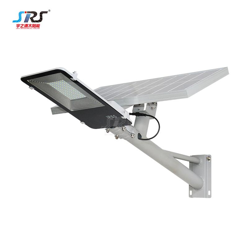Custom 100w Solar Street Light with Battery Wall Mounted YZY-LL-407/409/410