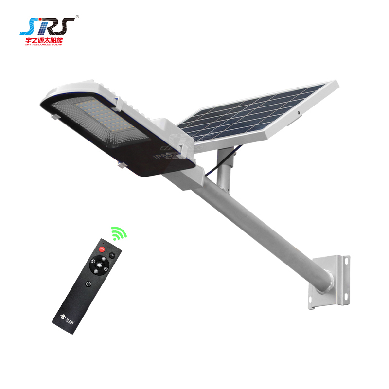Custom Automatic Solar Street Light 60 Watt for Yard Garden YZY-LL-401