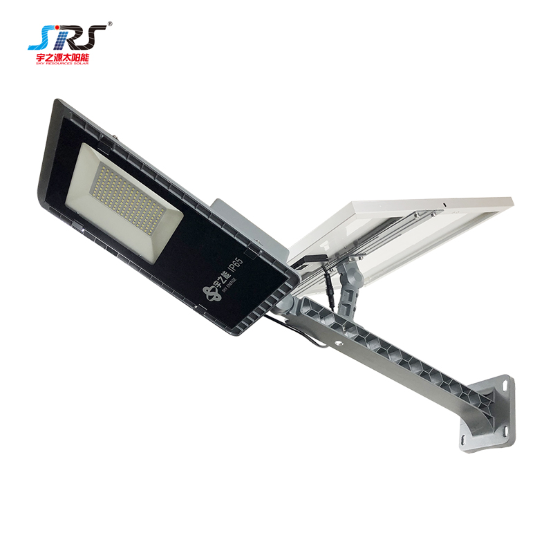 SRS lights led street light with solar panel supply for fence post-1