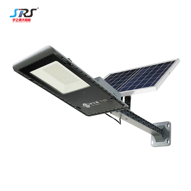 Wholesale Aluminum Semi Integrated Led Solar Street Light Fixture 150w YZY-LL-268