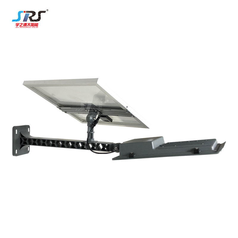 Wholesale Aluminum Semi Integrated Led Solar Street Light Fixture 150w YZY-LL-268