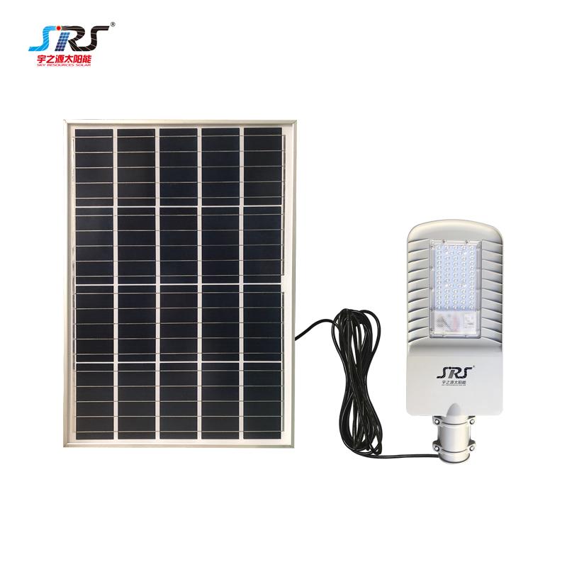 SRS Wholesale 60 watt solar street light company for fence post-2
