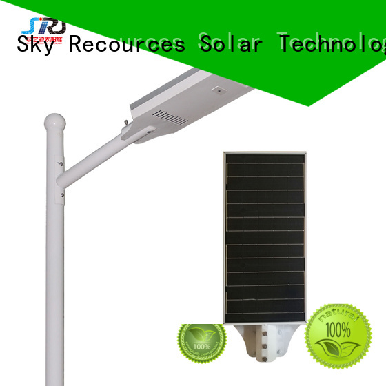 automatic 60w all in one solar street light led components for garden