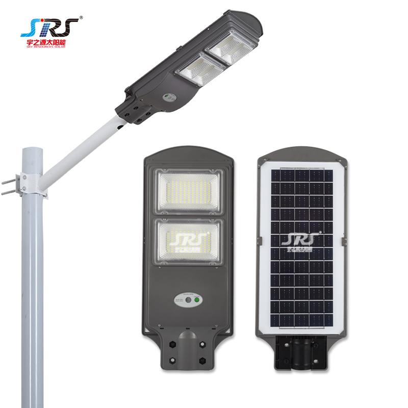 New All in One Integrated Solar Street Light Manufacturers 80w 120w YZY-LL-S02/S03