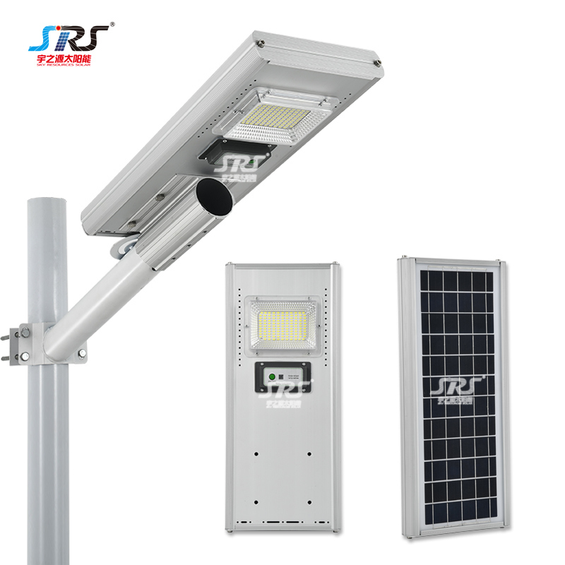 Custom Integrated All in One Solar Street Light 60w 90w 120w 180w