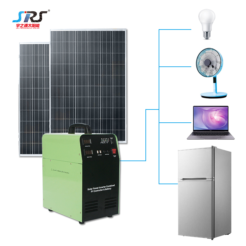 Portable Solar Power Panel System Home 300w 500w 1000w 1500w