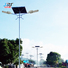 automated solar street light system