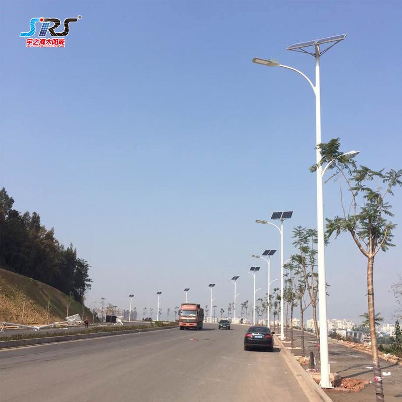 Best Automated Outdoor 180 Watt Solar Led Street Light Manufacturer
