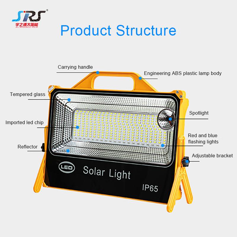Best Battery Power Adjustable Solar Led Flood Light Lamp YZY-LL-122/123