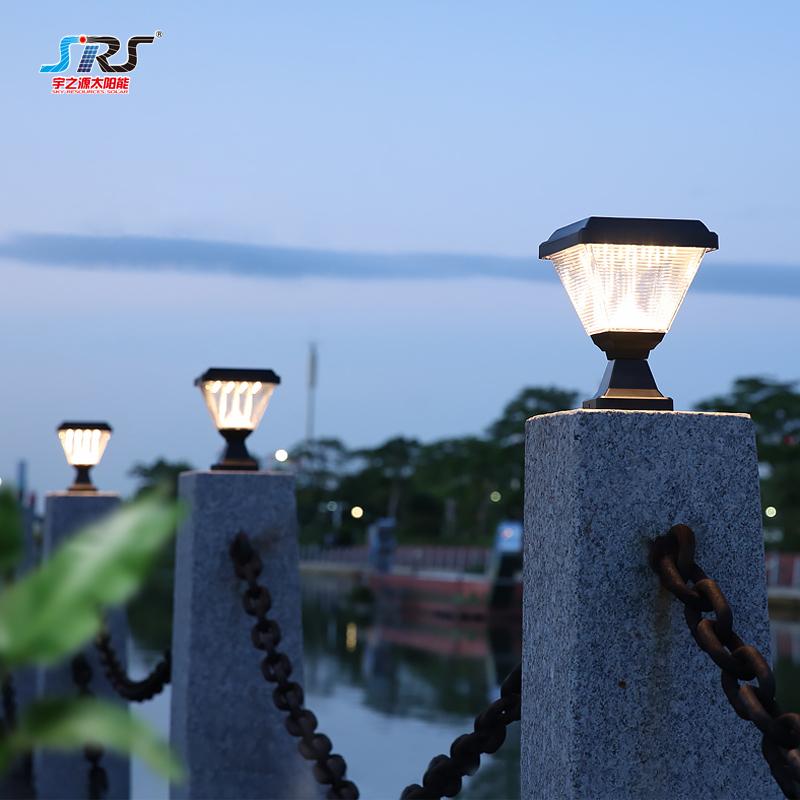 Wholesale Low Voltage Outdoor Solar Gate Pillar Lights Suppliers YZY-ZT-095-0406