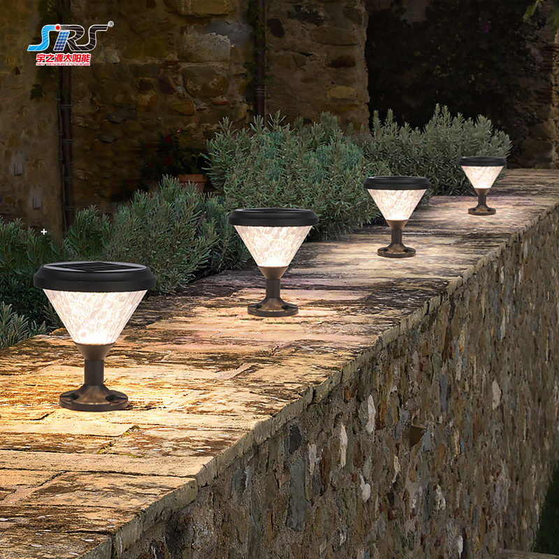 Best Outdoor Solar Led Pillar Light Lamp Manufacturer YZY-ZT-094-0907