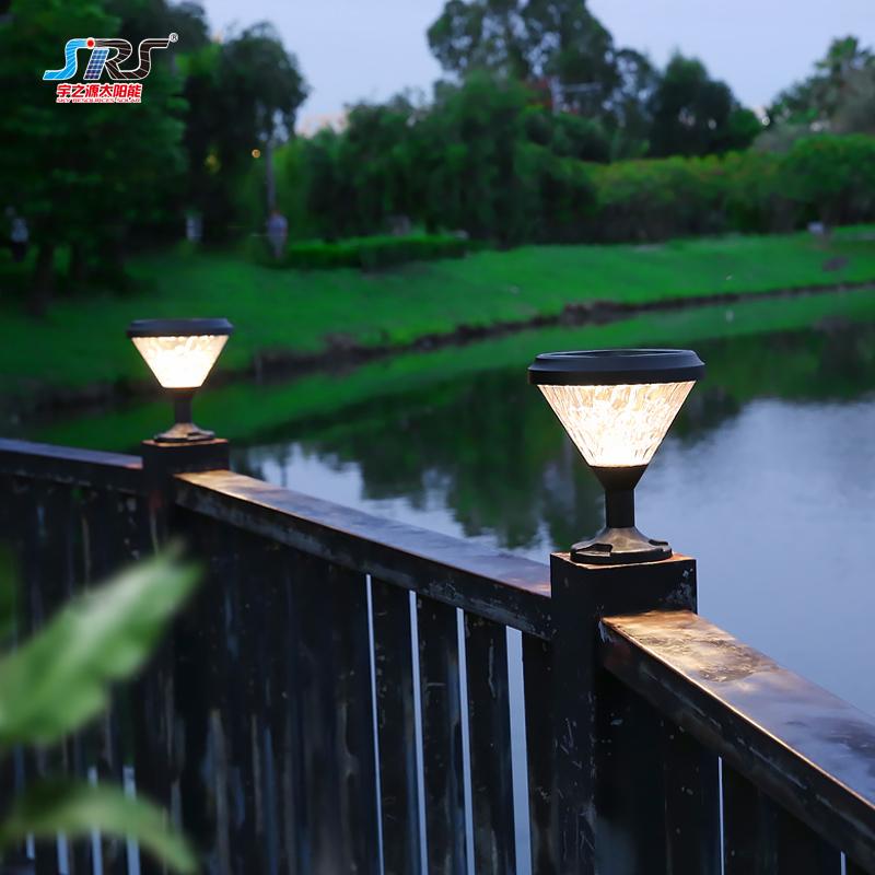 Best outdoor solar led pillar lamp light manufacturer