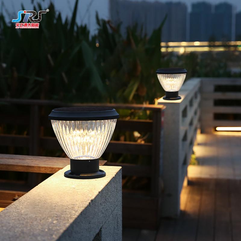 Custom Energy Saving Solar Column Pillar Lights YZY-ZT-082-4104Z