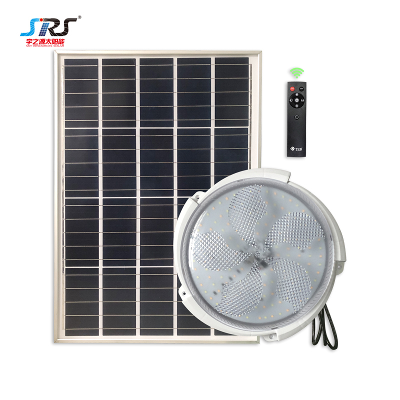 Solar Powered Ceiling Lights with Solar Panel 60w YZY-XD-013