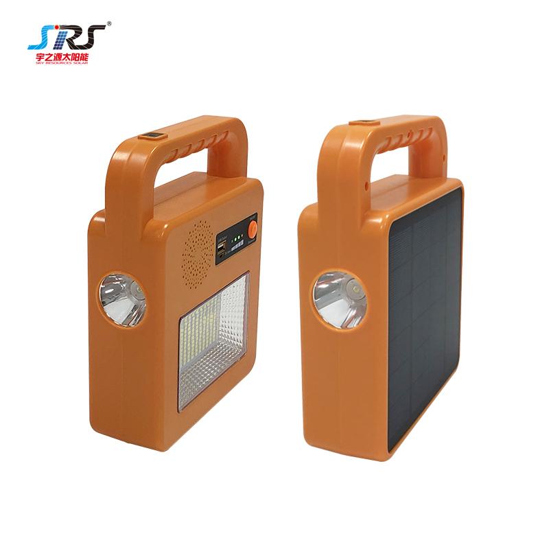 Portable Multifuncitional Integrated Bluetooth Solar Flood Light Flashlight YZY-PVY-022