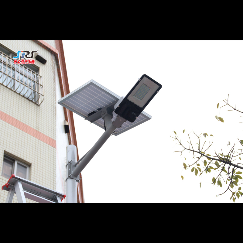 Custom 104w Solar Street Light with Battery Wall Mounted YZY-LL-409