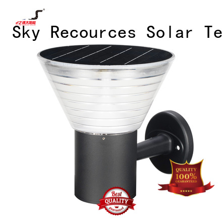 SRS outdoor solar lanterns for patio system for umbrella