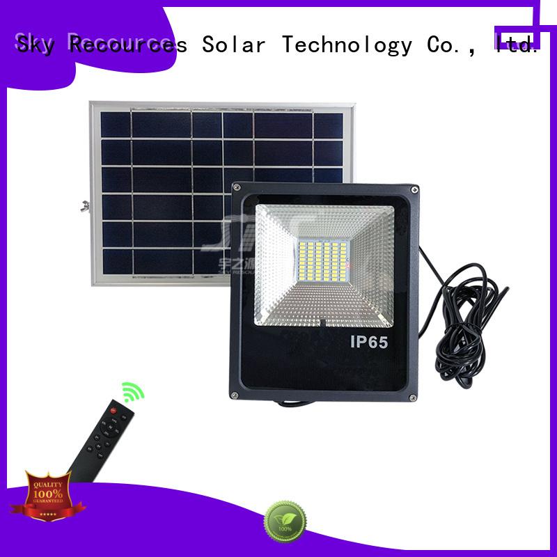 SRS advantages of cheap solar flood lights wholesale for village