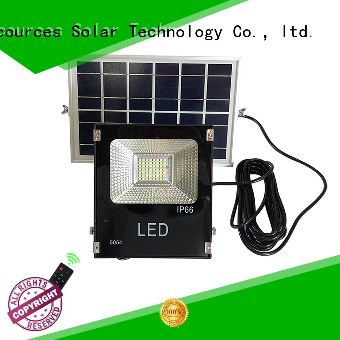 SRS commercial solar powered flood lights outdoor wholesale for home use