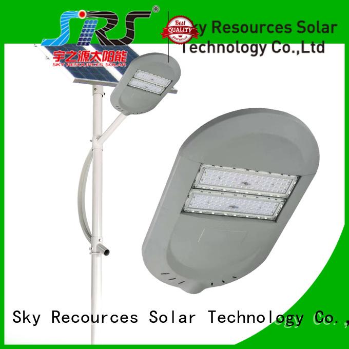 SRS buy luminous solar street light apply for outside