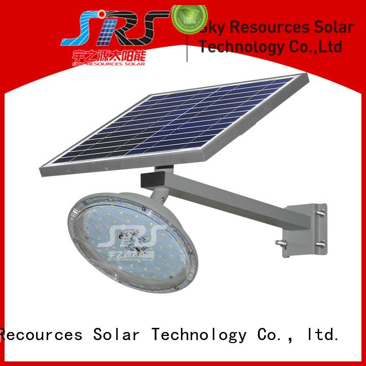 SRS solar light manufacturer configuration for flagpole