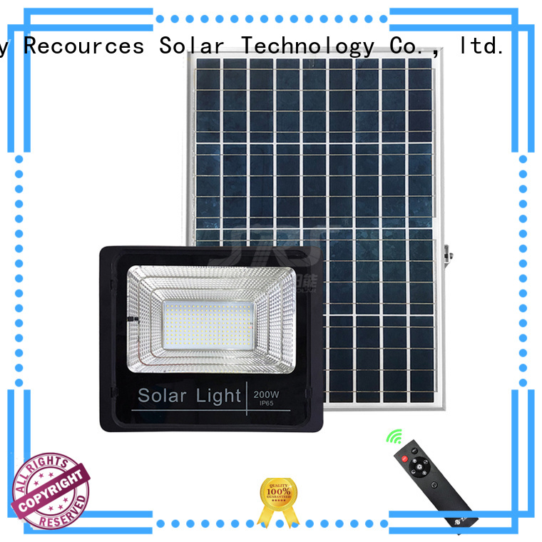 smart solar powered outdoor flood lights series for village