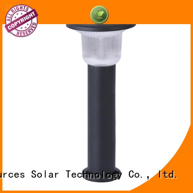 SRS grass solar lights system for umbrella