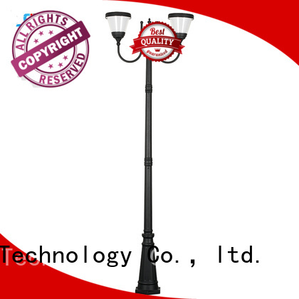 SRS solar garden path lights uses for shady areas