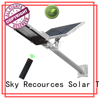solar street light set for garden SRS