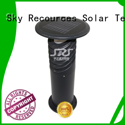 SRS high powered solar garden lamps and lanterns working for pathway