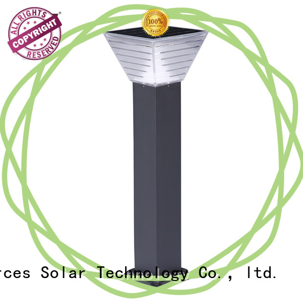 SRS integrated solar lawn lamps supplier for house