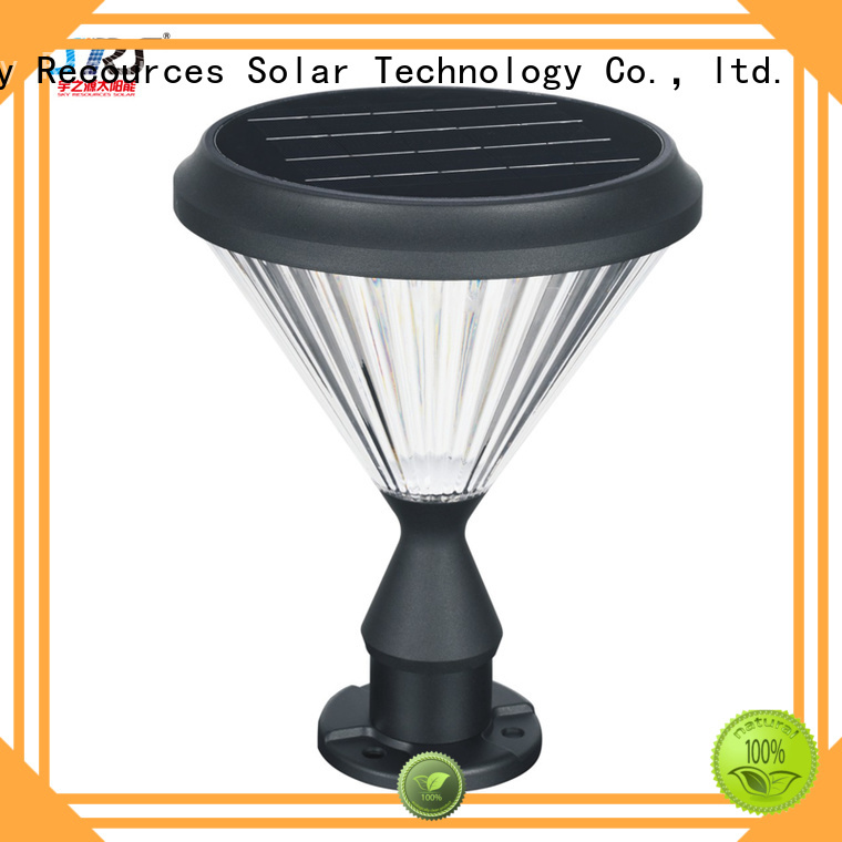 SRS custom best solar lawn lights system for pathway