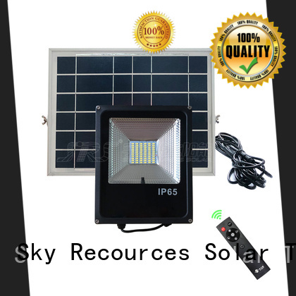SRS commercial solar flood lights with good price for village
