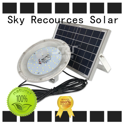 SRS smart commercial solar powered flood lights outdoor customized for village