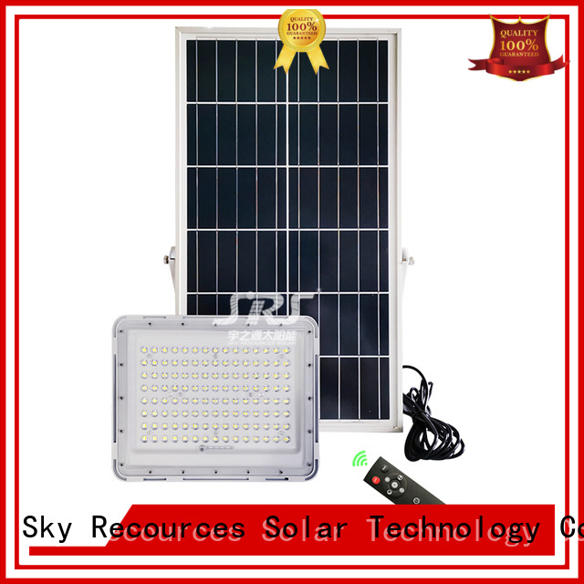 SRS best solar flood lights with good price for village