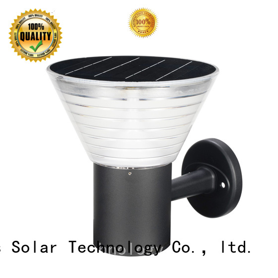 Wholesale solar panel outdoor wall lights powered supply for home