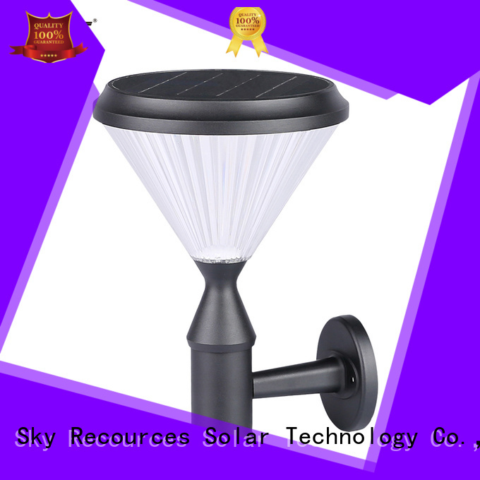 SRS solar lawn lamps working for house