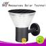 high powered solar yard lanterns system for posts