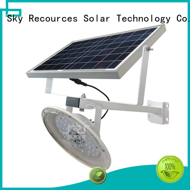 SRS solar led lights manufacturers with battery for garden