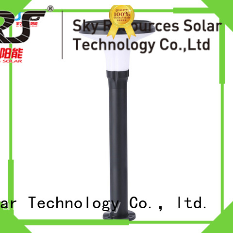 SRS solar powered lawn lights working for trees
