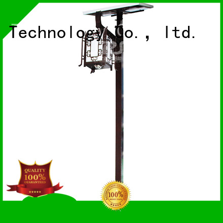 SRS high quality tall outdoor solar lights for shady areas