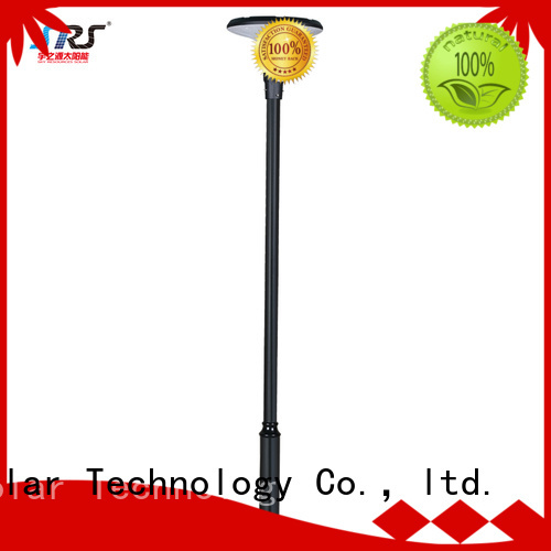 SRS smart outdoor garden lamps make in China for posts