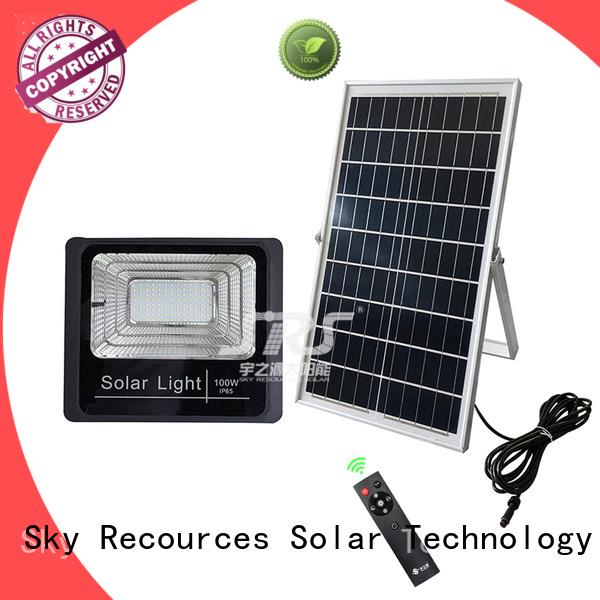 bifacial solar led sensor floodlight with good price for home use