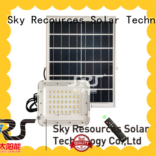 SRS best solar flood lights with good price for outside