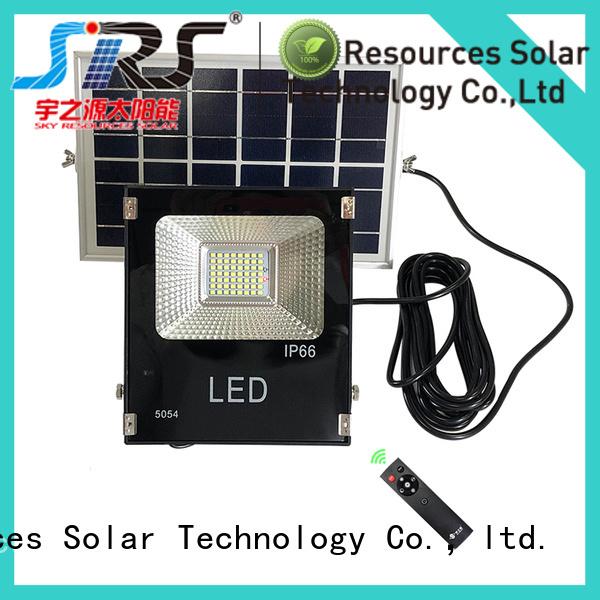 SRS integrated solar led sensor floodlight customized for village