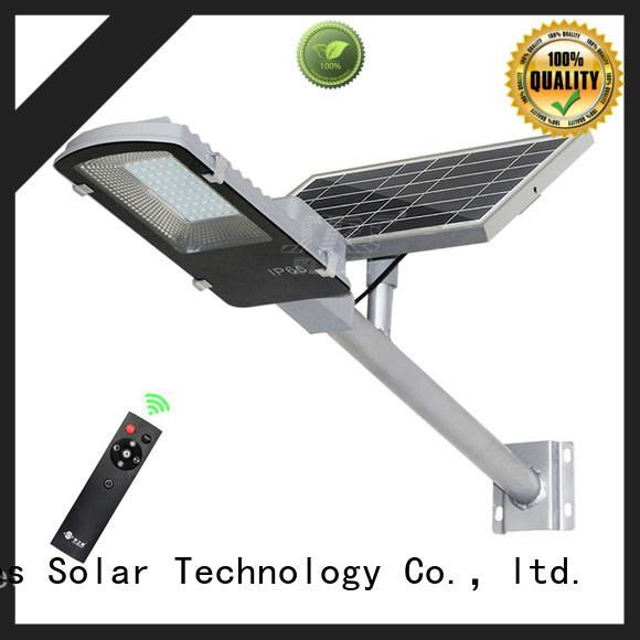 SRS solar light manufacturer diagram for flagpole