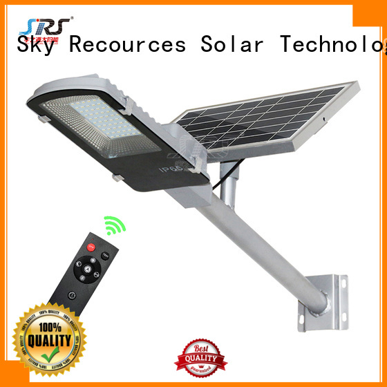 SRS fix solar compound lights with battery for flagpole