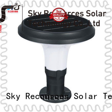 SRS advantages of solar lighthouse for yard system for house