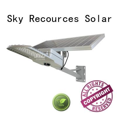 SRS solar led lights manufacturers diagram for fence post